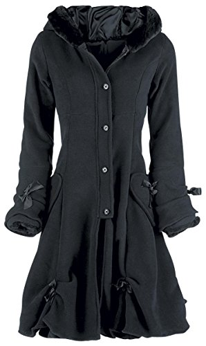 Poizen Industries Alice Coat Cappotto donna nero M