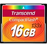 Top Quality By Transcend 16GB CompactFlash (CF) Card - 133x - 16 GB