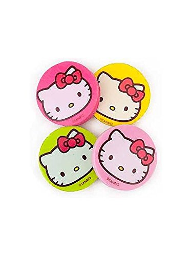 "Amscan Hello Kitty 1-1/4"" Eraser Favors Value Pack, 12-Count"