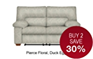 Buxton Medium Sofa Manual Recliner (Non Storage)