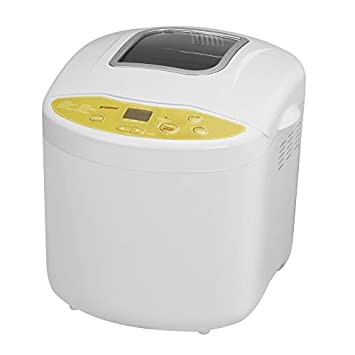 Breadman TR520 Programmable Bread Maker for 1, 1 1/2 , and 2-Pound Loaves, Cream