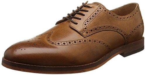 hudson-talbot-zapatos-de-cordones-para-hombre-marrone-marron-calf-tan-talla-44
