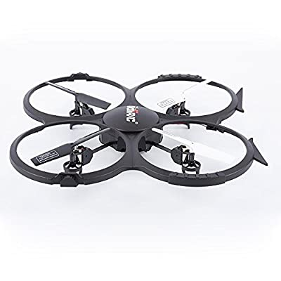 Babrit U818AHD 2.4G 4CH 6-Axis Gyro RC Quadcopter RTF UFO with HD Camera Speed Mode Flip Mode Headless Mode One Press Return
