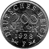 200 Mark Alemania, 1923 F (Jäger: 304) EBC