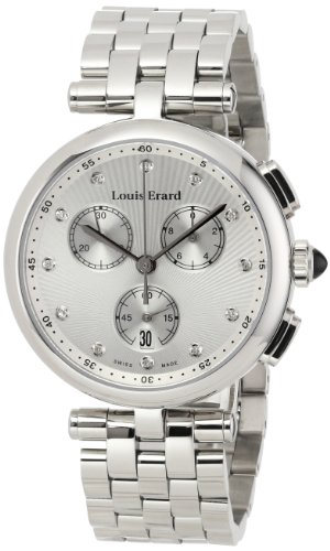Louis-Erard-Womens-12820AA11BMA25-Romance-Silver-Tone-Stainless-Steel-Watch