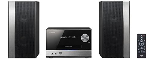 Pioneer-X-PM12-Sistema-Power-Micro-Hi-Fi-CD-USB-FM-Bluetooth-NeroAntracite