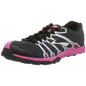 Brooks Women's Mach 9 Running Shoe,Magnum/Silver/Berry,11.5 B