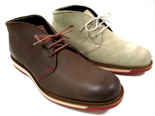 【履くほどに愛着が湧く、手放せない1足になりそう。】[アシックス ランウォーク]ASICS RUNWALK WR332E  メンズ  ウォーキング チャッカーブーツ コンフォート 天然皮革 3E 仕事靴 モカブラウン・ベージュ
