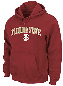 Florida State Seminoles Performance ColdGear Hooded Sweatshirt by Under Armour by Under Armour
