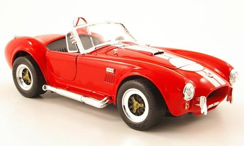 Shelby Cobra 427 S/C, rot/weiss , 1964, Modellauto, Fertigmodell, Yat Ming 1:18