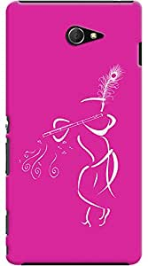 Kasemantra Muralia In Pink Case For Sony Xperia M2 LTE D2303
