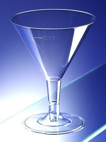 Bicchieri da martini cocktail in plastica trasparente usa for Vendita bicchieri