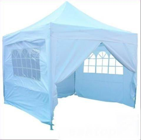 Quictent 10x10' EZ Pop Up Canopy Gazebo Party Tent White