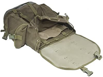 BW German Military Mountain Rucksack Backpack 25L Olive by Mil-Tec