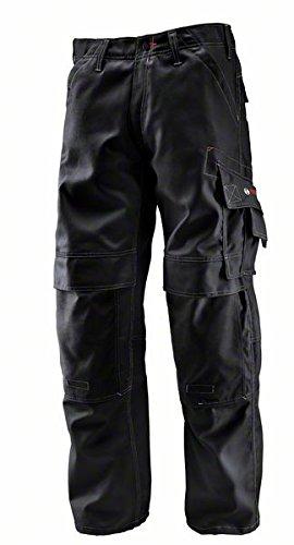 Bosch Professional 0618800201 WKT 010 Pantaloni con Ginocchiere ,Nero, Taglia del produttore: 50