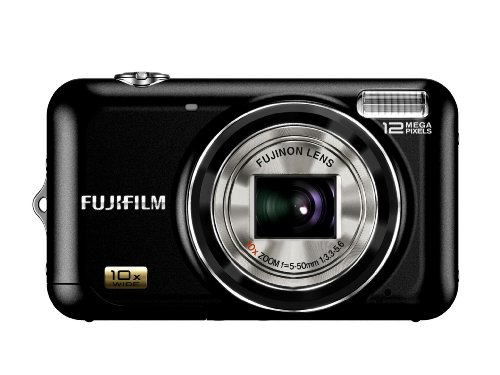 Fujifilm FinePix JZ300 12 MP Digital Camera with 10x Wide Angle Optical Zoom and 2.7-Inch LCD (Black)