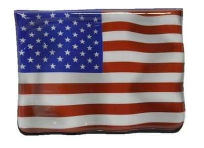 USA (americano) Bandiera / a stelle e strisce in PVC Porta Passaporto / Copertina