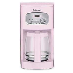 Cuisinart DCC-1100PK 12-Cup Programmable Coffeemaker, Pink