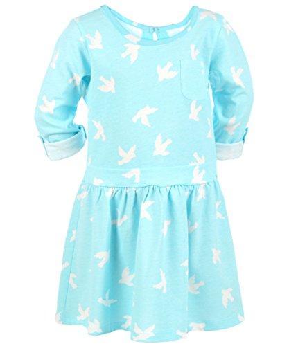 "Carter'S Little Girls' ""Flight Pattern"" Dress - Turquoise, 4 front-787164"