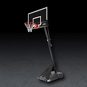 Buy Spalding Hercules Portable Basketball Hoop with 54-Inch Acrylic Backboard by Spalding
