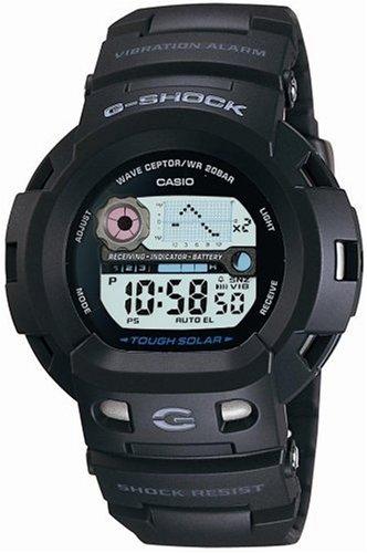 CASIO (カシオ) 腕時計 G-SHOCK The G サイレンサー タフソーラー 電波時計 GW-400J-1JF