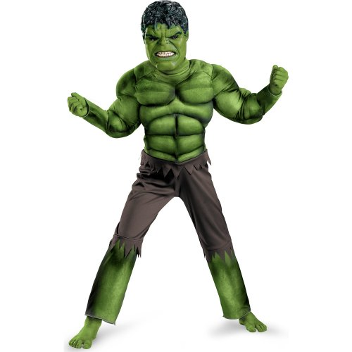 Disguise Inc - The Avengers Hulk Classic Muscle Chest Toddler Costume