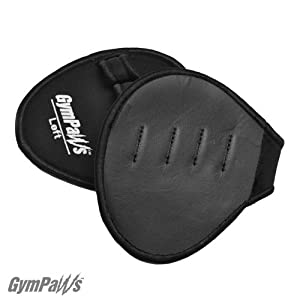 ProGrip Workout Grips | Leather Lifting Grips | Wrap Alternative (Black)