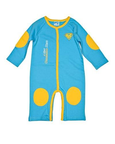 Fantasy Store Monopezzo Superbaby Baby Boy [Azzurro/giallo]