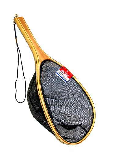 Eagle Claw Classic Bamboo Trout Net (15 x 11 x 9-Inch) (Trout Fishing Net compare prices)