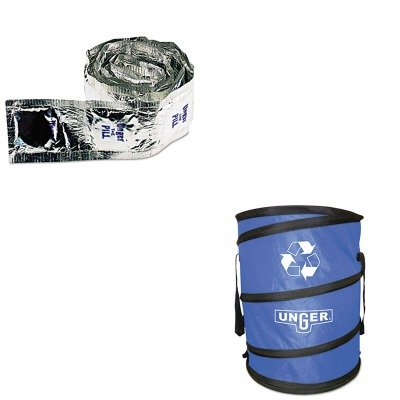 Kitungnb30Bungpl50 - Value Kit - Unger Nifty Nabber Bagger (Ungnb30B) And The Pill Window Cleaning Tablets (Ungpl50) back-61002