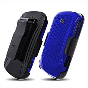 Beyond 3-In-1 Combo Case and Holster for Samsung Admire R720, XMatrix - Non-Retail Packaging - Blue