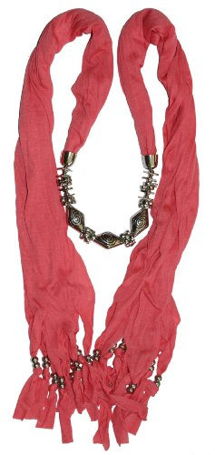 LibbySue-Necklace Jewelry Scarf