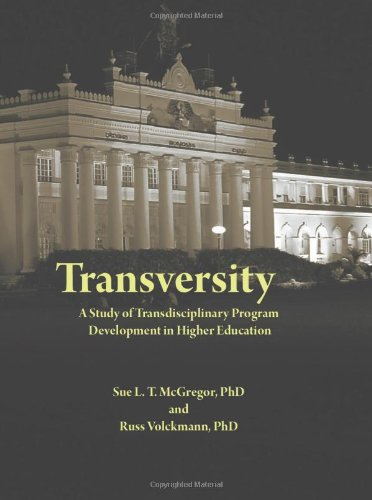 Transversity: Transdisciplinary Approaches in Higher...