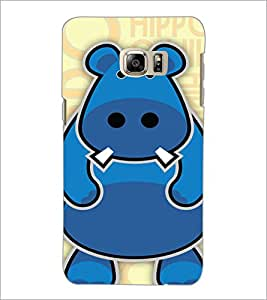 PrintDhaba Cartoon D-4224 Back Case Cover for SAMSUNG GALAXY NOTE 5 EDGE (Multi-Coloured)