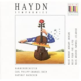 Haydn, J.: Symphonies Nos. 43, 45, 59 (C.P.E. Bach Chamber Orchestra, Haenchen)