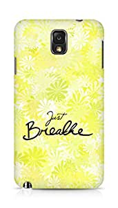 AMEZ just breathe Back Cover For Samsung Galaxy Note 3