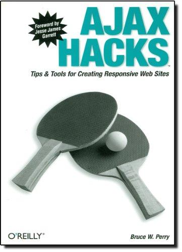 Ajax Hacks: Tips & Tools for Creating Responsive Web Sites