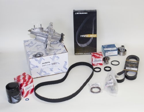 OEM Aisin TKT-011 Complete Water Pump Kit-Timing Belt by Toyota (1992 Toyota Corolla Water Pump compare prices)