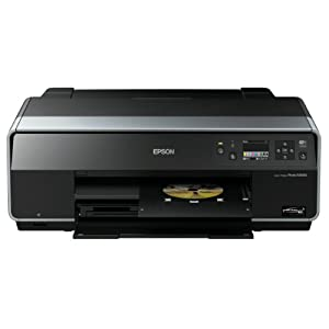 Epson - Stylus Photo R3000 - Imprimante jet d'encre couleur - Wi-Fi + Ethernet - Port USB - Noir