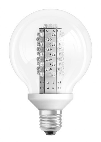 Osram 26807B1  Parathom LED Globe 95, E27 80846-01 LED-Lampe in Globeform 3W/100V-240V, warmweiß