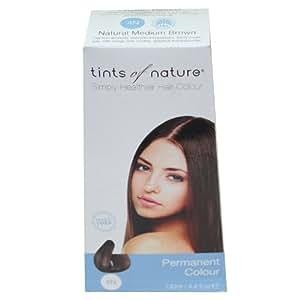 Tints of Nature Organic 4N Natural Medium Brown Permanent Hair Colour 130ml