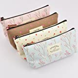 Pastorable Canvas Pen Bag Pencil Case, Brand New, Different Colors,set of 4