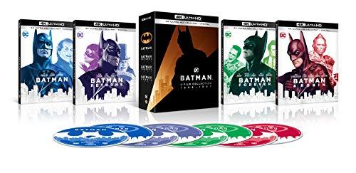 4K Blu-ray : Batman 4k Film Collection (4 Discos)
