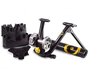 CycleOps 9905 Fluid2 Trainer Kit - Climbing Block Mat DVD Bike Thong by CycleOps