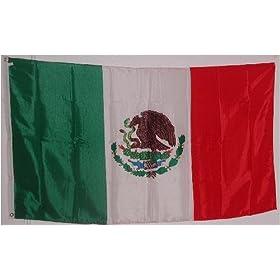 Mexico Flag 3 feet by 5 feet