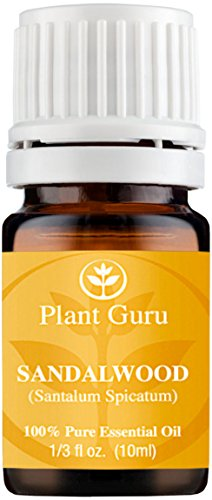 Sandalwood (Australian) Essential Oil. 5 ml. 100% Pure, Undiluted, Therapeutic Grade. Sample Size