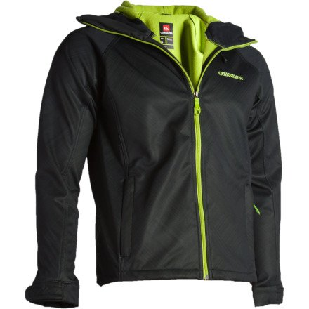 Quiksilver Villa Rica Jacket - Men's Black Magazine, L
