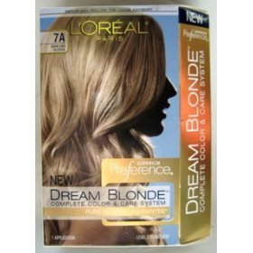 l oreal superior preference dream blonde hair
