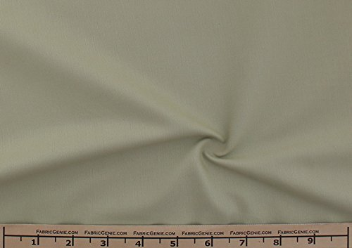 Stretch Sateen Fabric, Solid Stretch Sateen Fabric, Sateen Fabric, Stretch Cotton Sateen Fabric, Cotton Sateen Fabric-Green Tea - 20 Yards Wholesale Lot