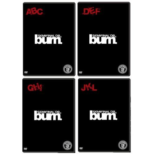 【DVD】burn.2008SEMIFINAL【A.B.C】【D.E.F】【G.H.I】【J.K.L】 4本セット